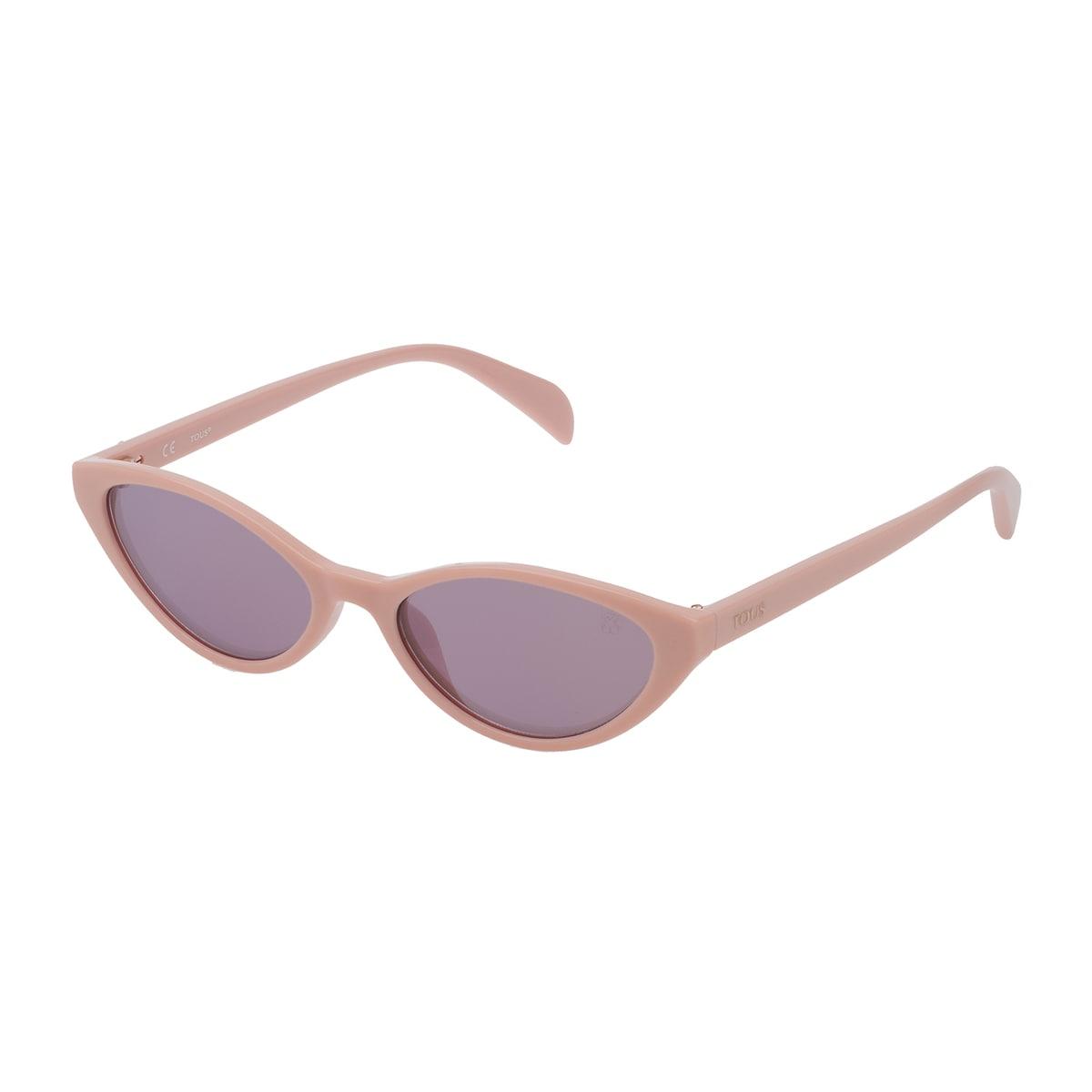 Óculos de sol Bear Cat Eye em Acetato na cor rosa