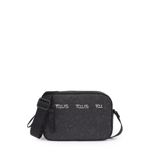 Small black-gray Kaos Mini Sport Crossbody bag