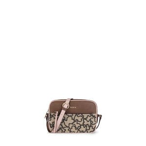 Brown-pink Elice New Crossbody bag