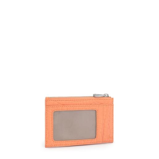 Πορτοκαλί Πορτοφολάκι-Θήκη καρτών Dorp Exotic