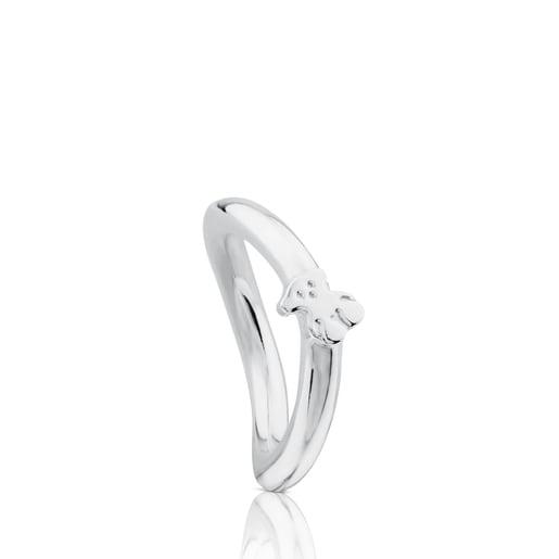 Silver Ondas Ring