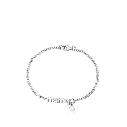 Armband TOUS Mama aus Silber.