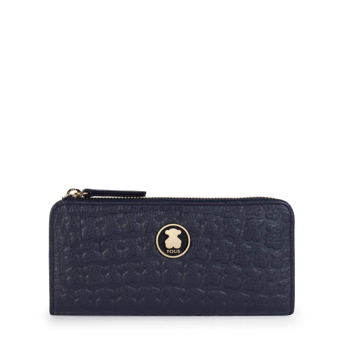 Medium navy blue Leather Sherton Wallet