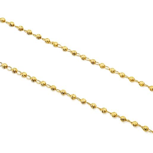 Halsband TOUS Chain aus Gold