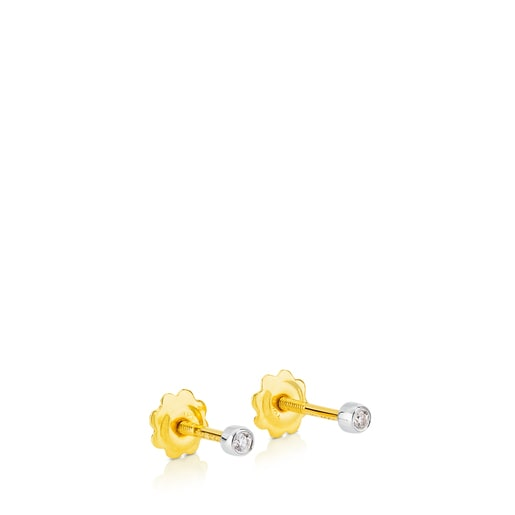 Pendientes TOUS Diamonds de Oro blanco y diamantes