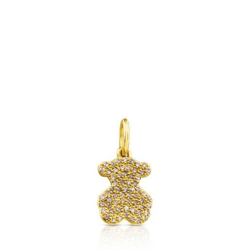 Dije Gem Power de Oro con Diamantes