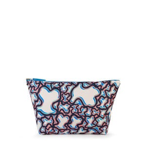Medium blue-multicolored Kaos Shock Reversible Unique Handbag
