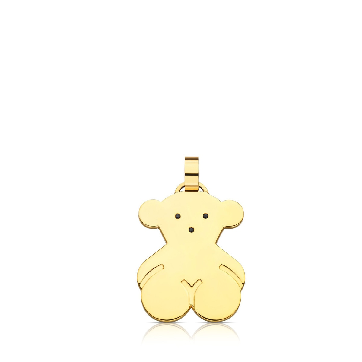 Vermeil Silver Sweet Dolls Pendant with Spinel
