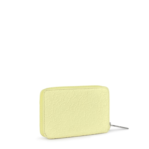 Small yellow leather Sira wallet