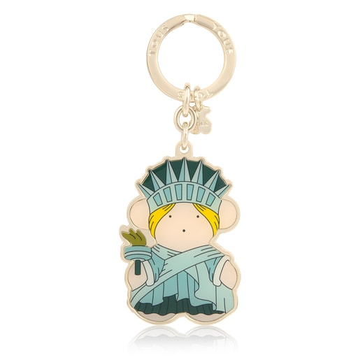 Multicolored Oso US Key ring