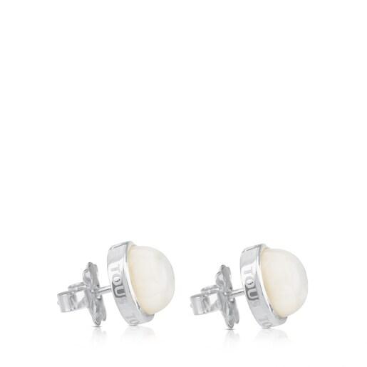 Silver TOUS Nacars Earrings
