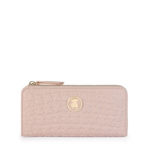 Medium pink Leather Sherton Wallet