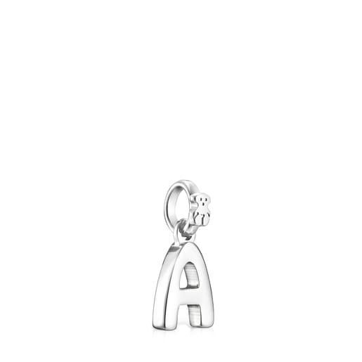 Μενταγιόν Alphabet από ασήμι με το γράμμα A