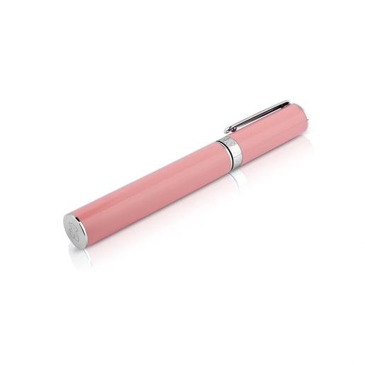 Bolígrafo rosa de acero TOUS Writing