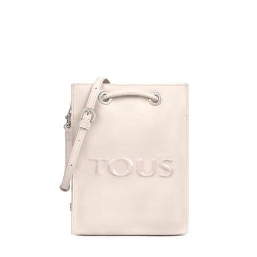 Mini black and white Dorp Crossbody bag