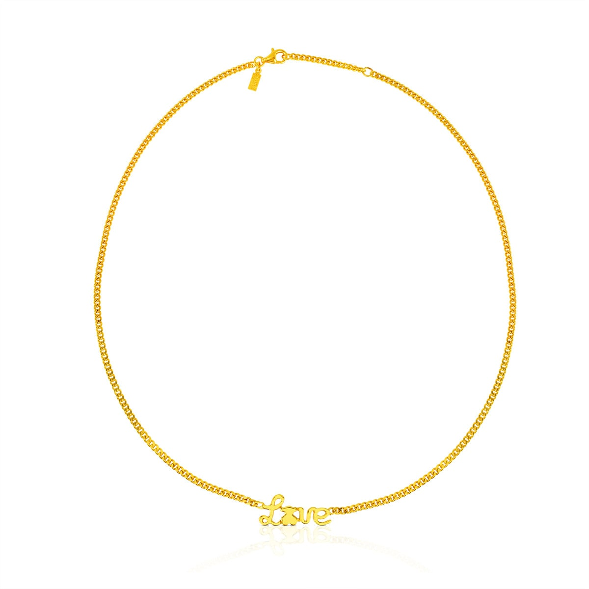 Vermeil Silver Love Necklace