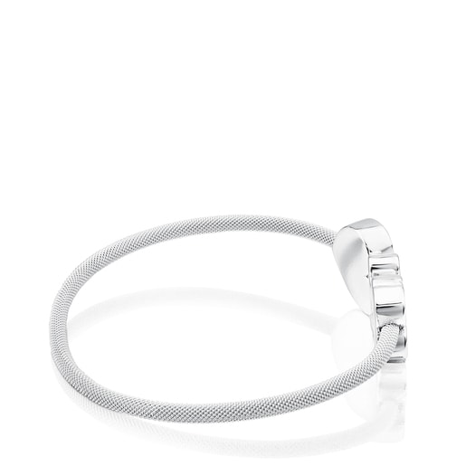 Bracelet Icon Mesh en Argent