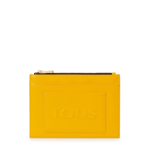 Flat yellow Dorp Toiletry bag
