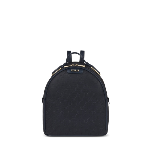 Navy blue Script Day Backpack