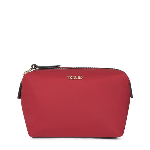 Large red Shelby Toiletry bag