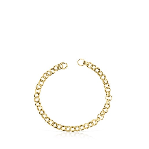 Silver Vermeil Hold Bracelet