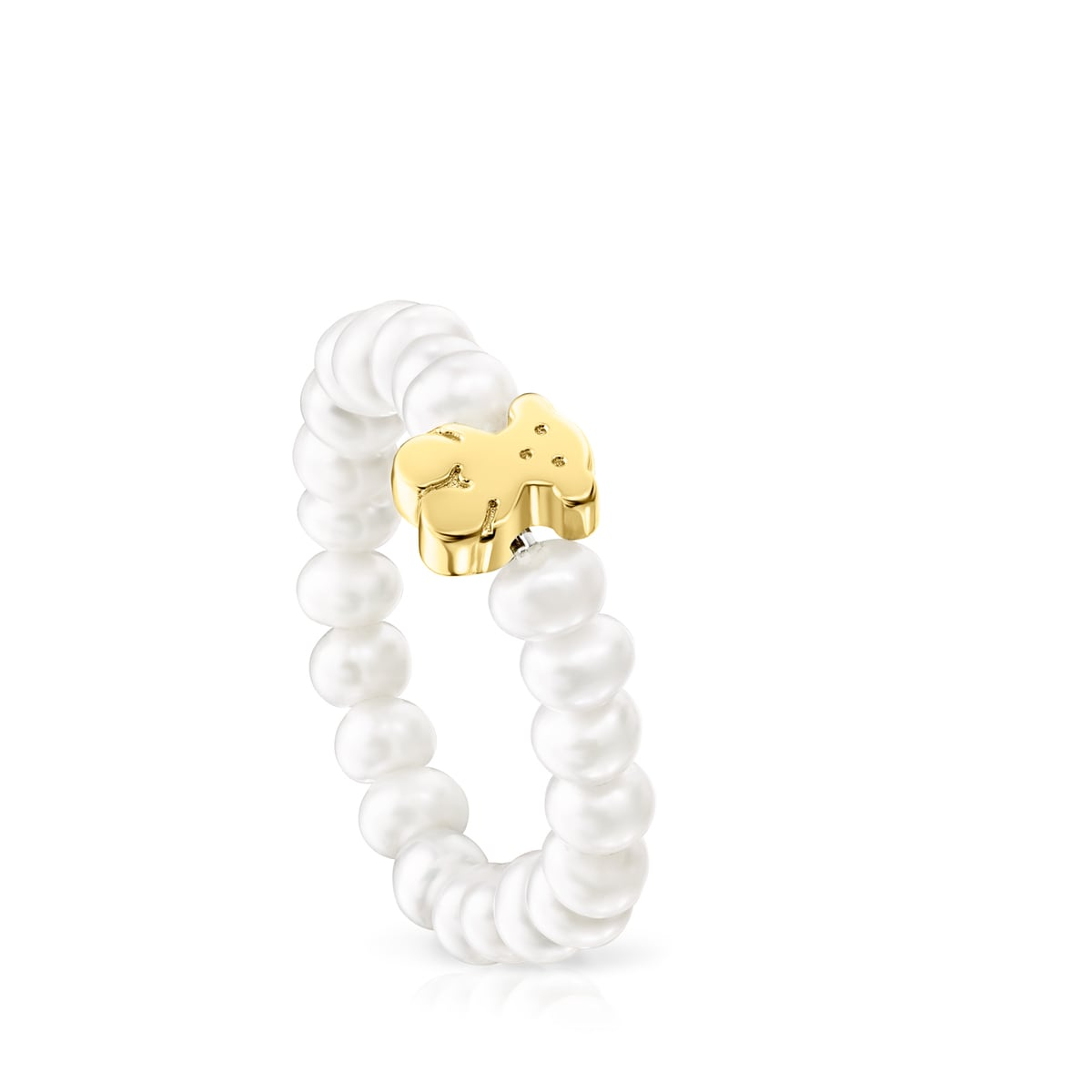 Gold Sweet Dolls XXS Ring with Pearls