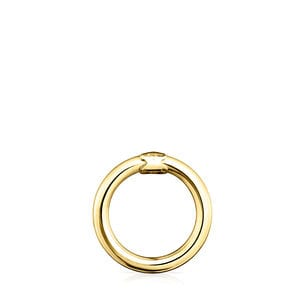 Medium Vermeil Silver Hold Ring