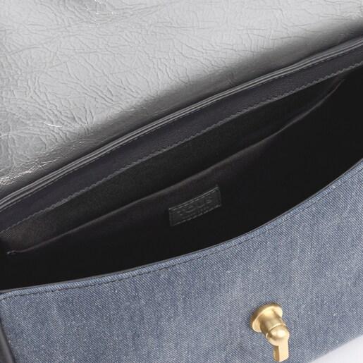 Bandolera pequeña Bridgy Wild multi-jeans