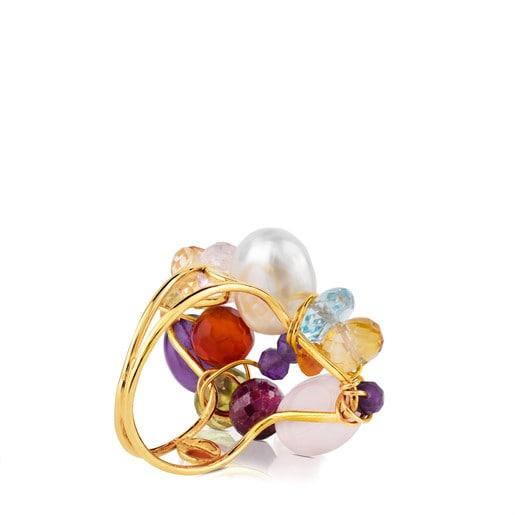 Ring Garabato aus Gold