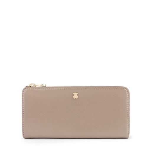 Medium taupe Dorp wallet