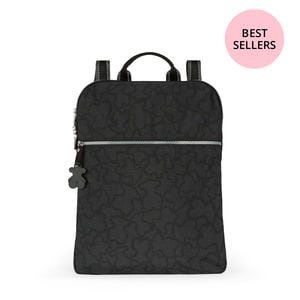 Anthracite-black colored Nylon Kaos New Colores Backpack 6e0fba4ae7df7