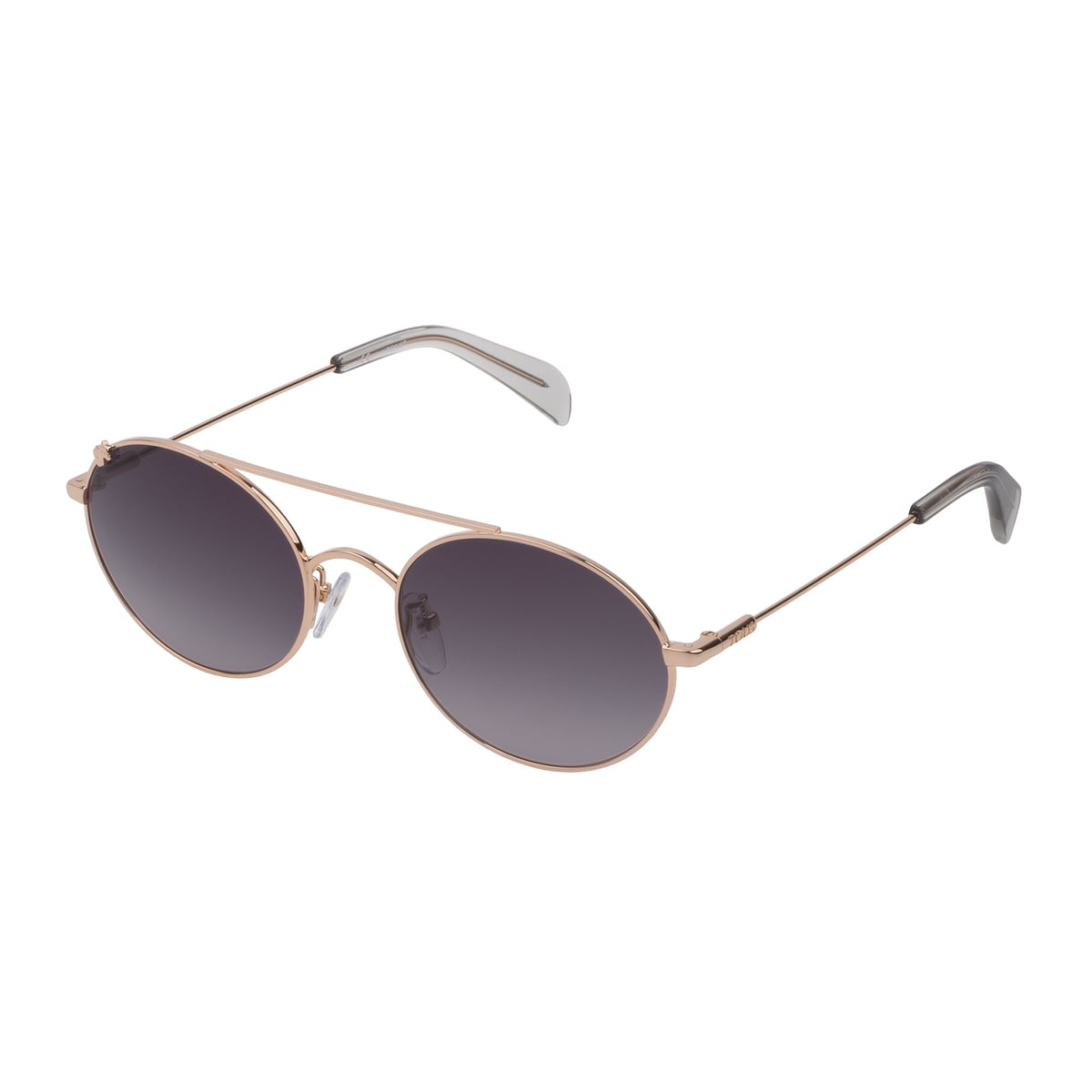Gold colored Metal Metal Bear Sunglasses