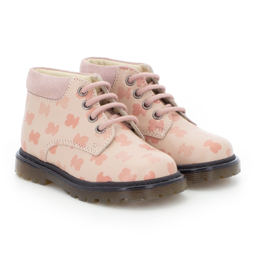 Run casual boots in Pink