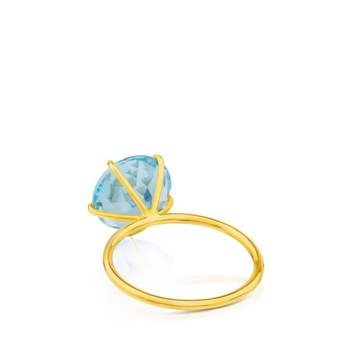 Ivette Ring in Gold with Topaz 11/20