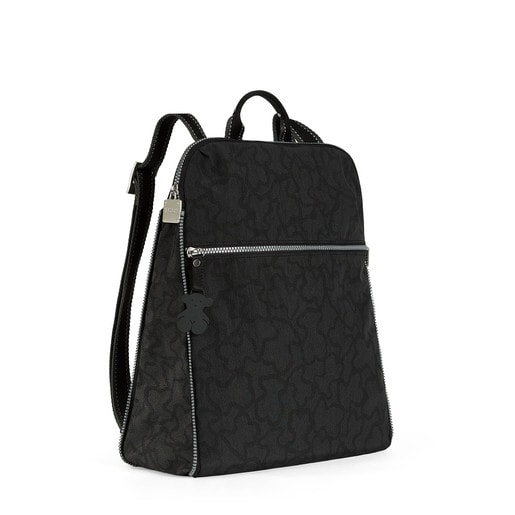 Anthracite-black colored Nylon Kaos New Colores Backpack