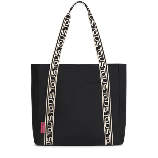 Large black Shelby shopping bag