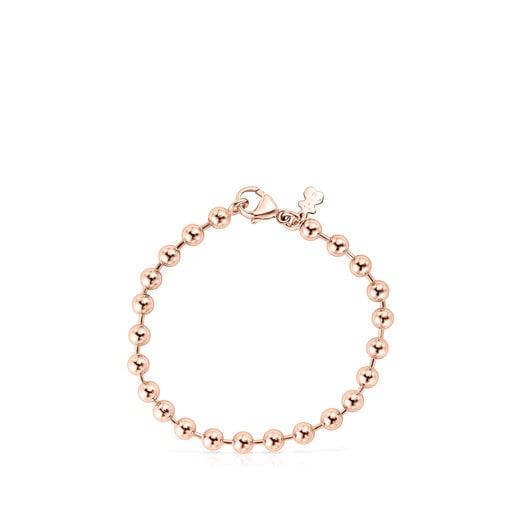 Bracelet TOUS Basics en Or Vermeil rose