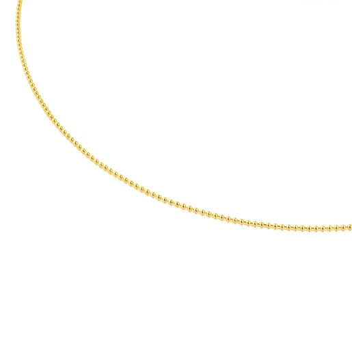 Gargantilla TOUS Chain de oro con bolas, 40cm.