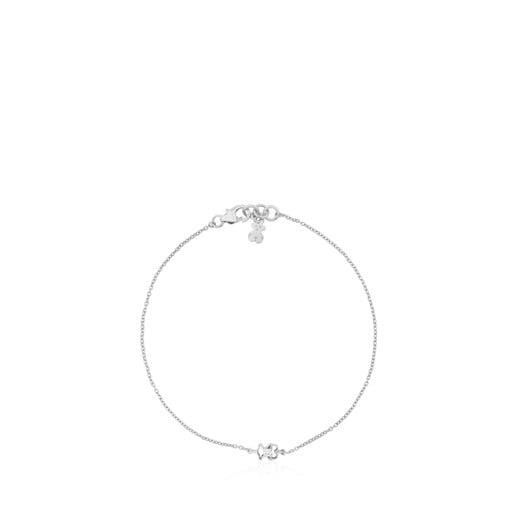 White Gold Silueta Bracelet with Diamonds