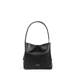 Small black Leather Sibil One shoulder bag
