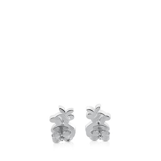 Boucles d'oreilles Twist en Argent