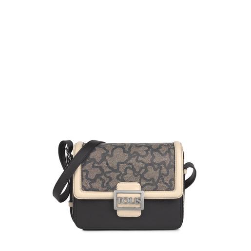 Medium black and white Kaos Icon Crossbody bag