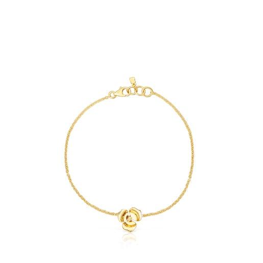Bracelet Fragile Nature en Or et Diamants