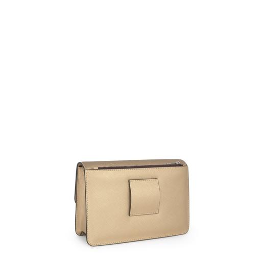 Μικρή τσάντα Χιαστί Hold σε Χρυσό Χρώμα
