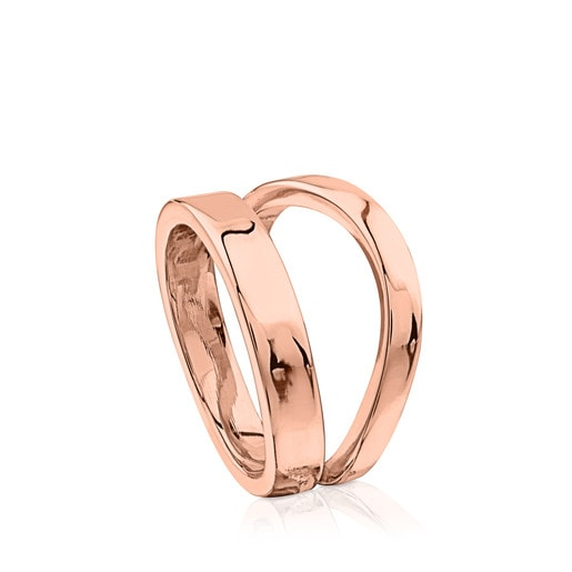 Rose Vermeil Silver Lio Ring