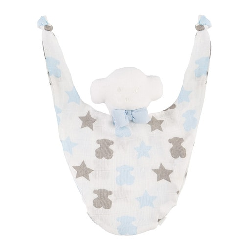Set de Cobija y Dou-Dou Muse Star Azul Celeste