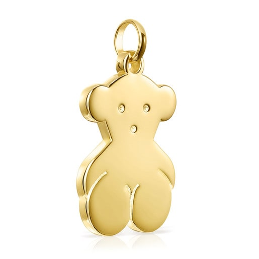 Μεγάλο Μενταγιόν με αρκουδάκι Sweet Dolls από Ασήμι Vermeil