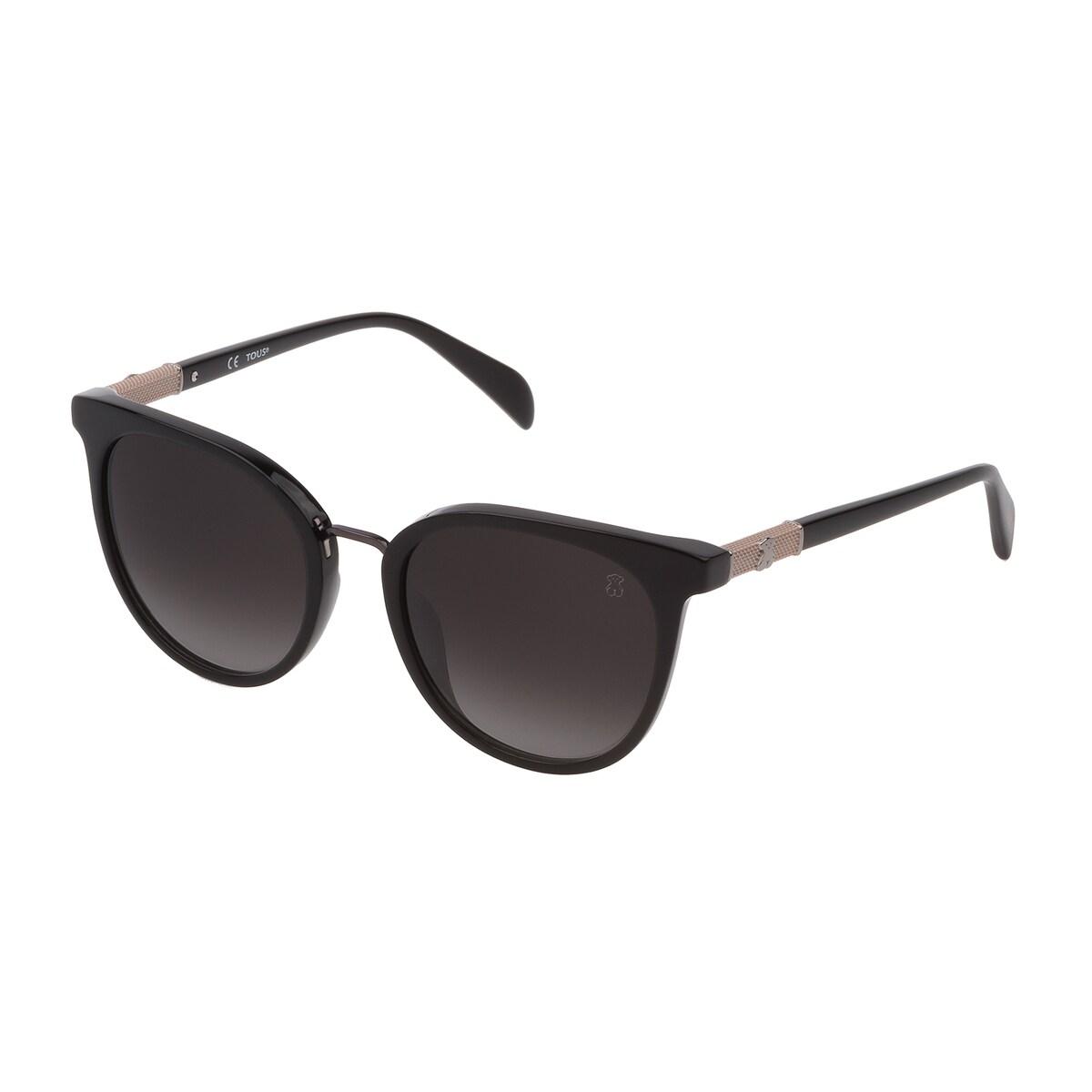 Gafas de sol Mesh de metal y acetato en color negro