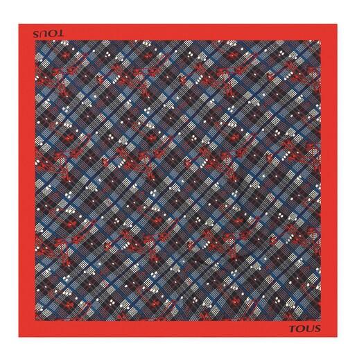 Pañuelo TOUS Tile Corine rojo