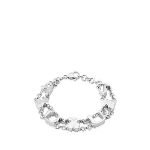 Stainless Steel TOUS Basics Bracelet